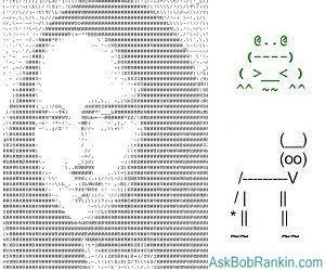 ASCII Art - An Enduring Internet Treasure | ASCII Art | Scoop.it