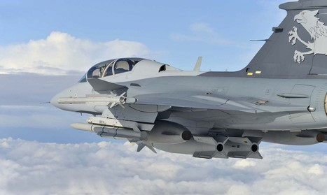 Brazilian Firm To Co-build Gripen E With Saab - Gripen | Fighter Jet News | Scoop.it