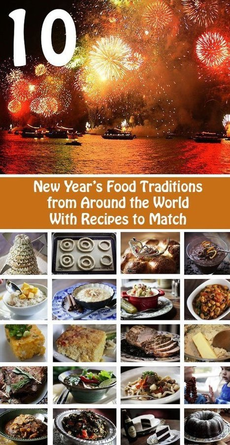 10 New Year's Food Traditions from around the World | Ladies Community | Scoop.it
