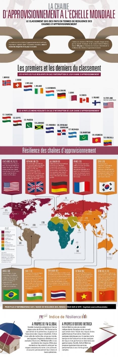 [Infographie] La résilience des chaînes d'approvisionnement | Optimiser ses achats | Scoop.it