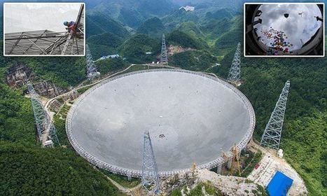 China completes world's largest telescope to find ALIENS   Miscellaneous Topics   Scoop.it