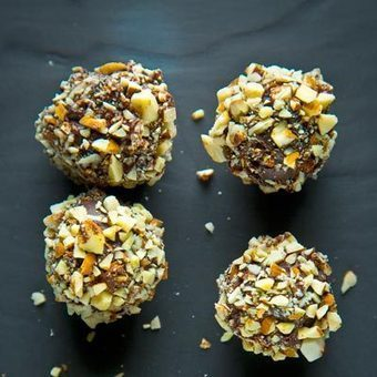 Toasted Almond Truffles Recipe | Tasting Table | Toutes les Choses Délicieuses et Chic de Rum Cake Lounge | Scoop.it