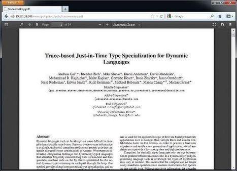 Firefox 19 disponible avec PDF.js, le lecteur PDF en HTML5 et JavaScript | HTML5 - The future of the Web! | Scoop.it