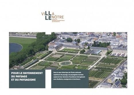 Villa Le Nôtre, 1ère résidence internationale de jeunes talents du paysage   politiquesculturelles-cirquecontemporain-artsdansl'espacepublic-bandedessinee-etc.   Scoop.it