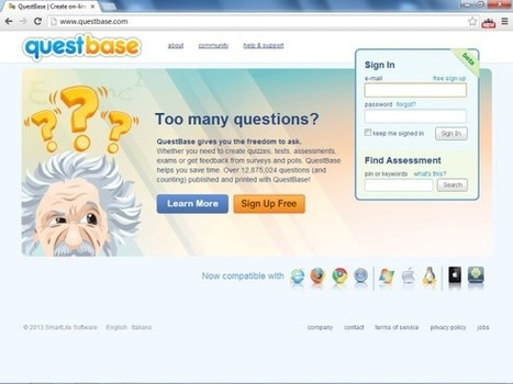 Create tests and quizzes in a few clicks with QuestBase | Education | Scoop.it