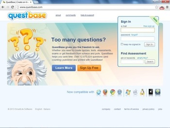 Create tests and quizzes in a few clicks with QuestBase | Business in a Social Media World | Scoop.it