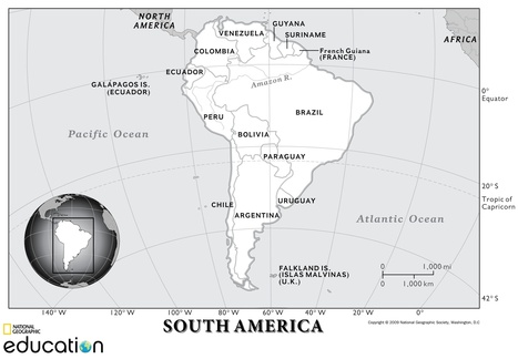 South America: Resources | Reese Geo 152 | Scoop.it