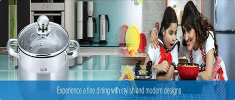 Hard Anodized Cook Ware, Hard Anodized Cook Ware Price in India | Baltra Home Products | Scoop.it