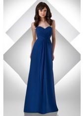 Sheath Column Sweetheart Floor Length Blue Bridesmaid Dress Bbbj0009 for $345 | 2014 landybridal wedding party dresses | Scoop.it