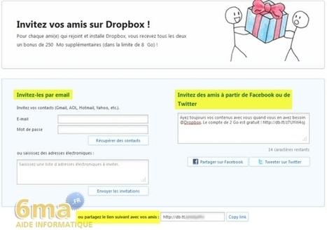 Dropbox : Synchroniser et partager des fichiers en ligne (2/2) | ACTU-RET | Scoop.it