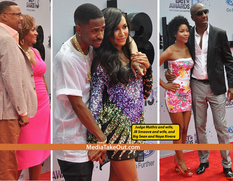 There Were A Lot Of BEAUTFUL COUPLES Last Night At The BET AWARDS . . . Here Are Some Of The Men . . . Who Have GREAT LOOKING WOMEN AS THEIR DATES!!! - MediaTakeOut.com™ 2013 | GetAtMe | Scoop.it
