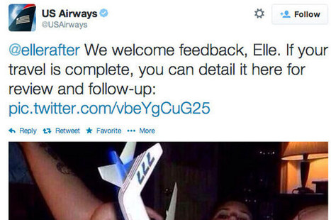 US Airways Just Tweeted Out One Of The Most Graphic Things You've Ever Seen A Brand Tweet | PR, Public Relations & Public Opinion | Scoop.it
