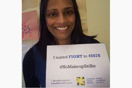#nomakeupselfie: barefaced cancer campaign goes viral - Toronto Star | E-solidarity | Scoop.it