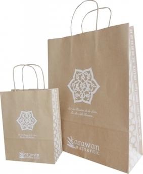 Un sac en papier biodégradable pour Karawan Authentic!   horse ball   Scoop.it