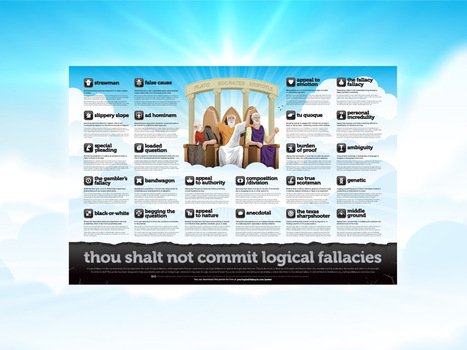 Thou shalt not commit logical fallacies | Digital Imaging - Telling the Story | Scoop.it