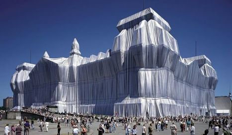 """Christo and Jeanne-Claude: """"Wrapped Reichstag"""" 