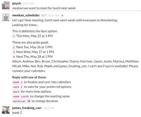 The 16 Best Meeting Scheduler Apps and Tools | Practical Networked Leadership Skills | Scoop.it