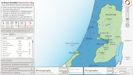 Crowdsourcing an Israeli-Palestinian Border | Geography Education | Scoop.it