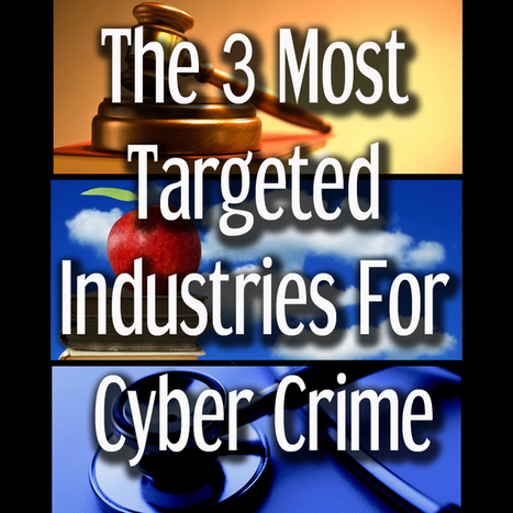 The Top 3 Industries of Cyber Crime Victims - Guardian Network Solutions | Guardian Network Solutions | Scoop.it
