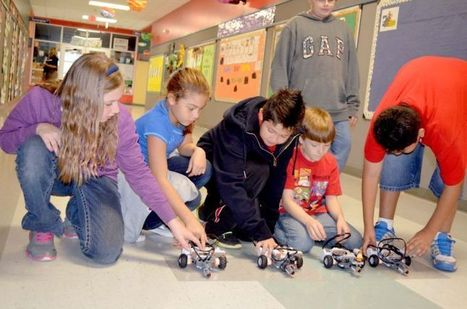 Neidig students build robotic cars with Legos - Elgin Courier | Heron | Scoop.it