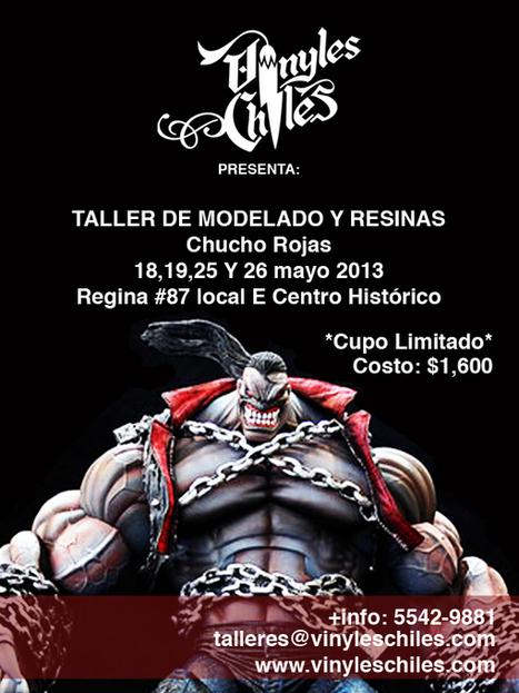 Taller   Escultura y Resinas   Mayo - VinylesChiles   Todo sobre el ...   Talleres   Scoop.it