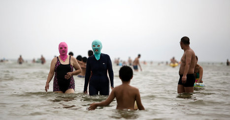 'Facekini'-Wearing Chinese Look Askance at French 'Burkini' Ban | IELTS, ESP, EAP and CALL | Scoop.it