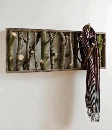 Creative coat rack | Permaculture, Philosophy & a sustainable future | Scoop.it