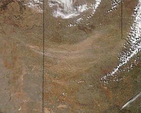 Dust storm in the Texas panhandle | Remote Sensing News | Scoop.it
