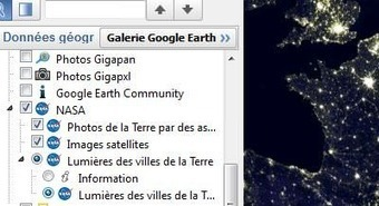Comment avoir les vues de nuit sur Google Earth ? | Time to Learn | Scoop.it