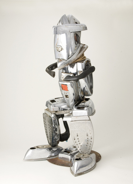 Ironmaster/GE Male Figure | Willie Cole: African-American Contemporary Artist | Scoop.it