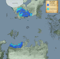 Sample cultural distribution maps « Glorantha | Glorantha News | Scoop.it