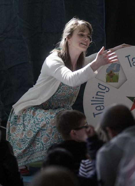 Children flock to see favourite authors at Huddersfield literature festival   Reading discovery   Scoop.it