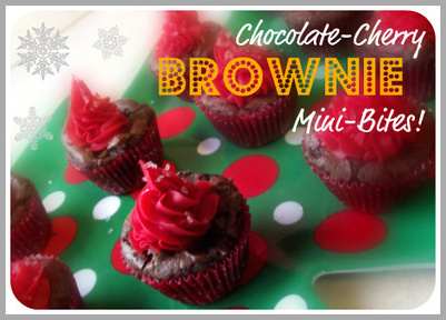 Holiday Baking with #ClearAmerican – Chocolate-Cherry Brownie Mini-Bites! #CBias | Parenting | Scoop.it