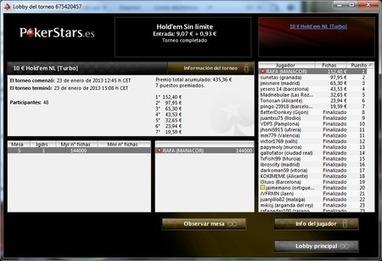Rafael Nadal gana su primer torneo de poker - PokerStars LA Blog   Motor Actual   Scoop.it
