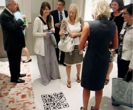 Alfombras QR – benjalink | Tecnomarketing, internet y vida inteligente | VIM | Scoop.it