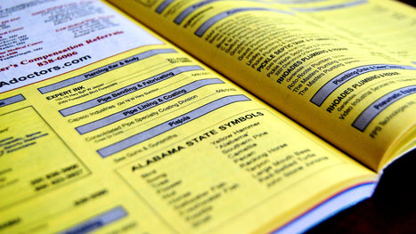 Most people don't use phonebooks. So why do we still get them? - Vox | Dumpster Rentals | Scoop.it