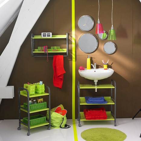 Installer un coin buanderie dans la salle de bain - Astuces - Déco | Aménagement et décoration | Scoop.it