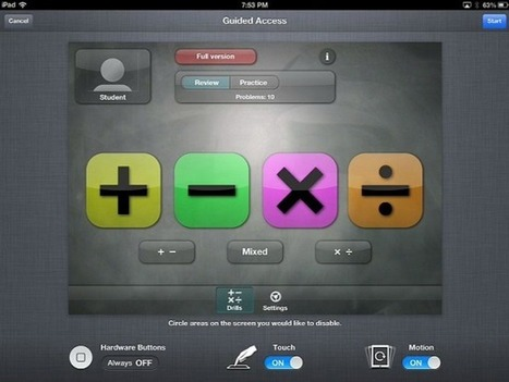 Limit an iOS Device to Running a SingleApp - Learning in Hand   Technology in Education for CHS Teachers   Scoop.it
