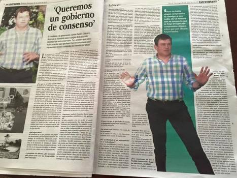 'Queremos un gobierno de consenso' + Entrevista a LaNacion.com.co | @CarlosRamiroCH | Scoop.it