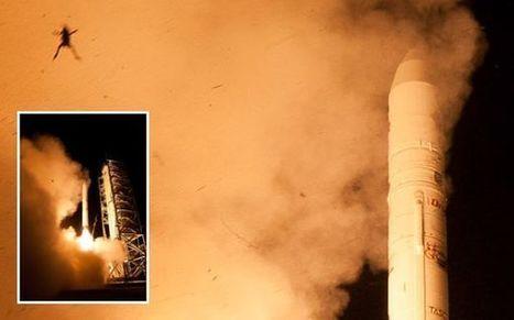 FOTO: rana salió volando durante el lanzamiento de cohete de la NASA | ECON.JOSÉ ANTONIO SAMAMÉ SAAVEDRA | Scoop.it