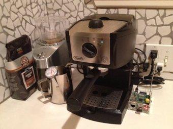 Raspberry Pi for Web Initiated Coffee   Raspberry Pi   Scoop.it