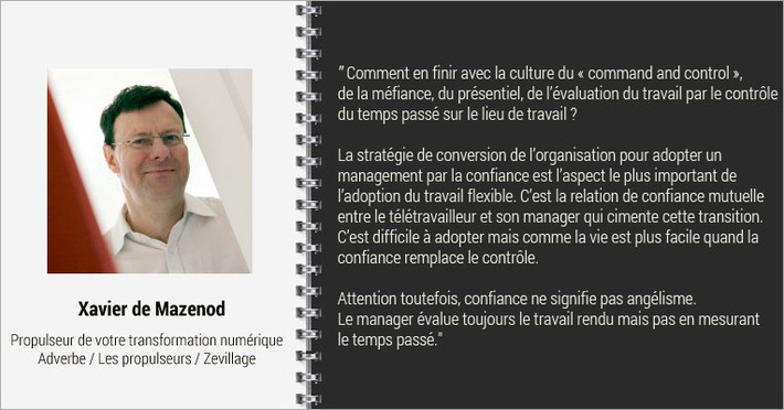 Interview Xavier de Mazenod, MOOC Le travail flexible | Solutions locales | Scoop.it