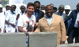 Gabon denies paying Barcelona's Lionel Messi £2.5m for Ali Bongo visit - The Guardian | AC Affairs | Scoop.it