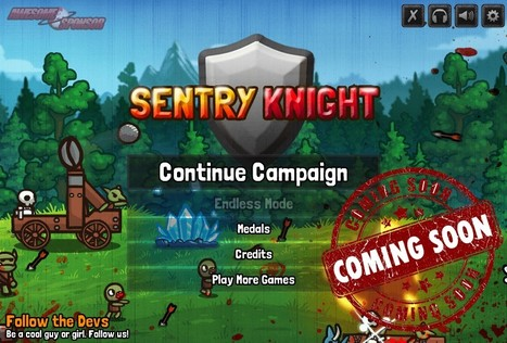 Play Sentry Knight | Strategy Games | Just Friv | Flash Games | Scoop.it