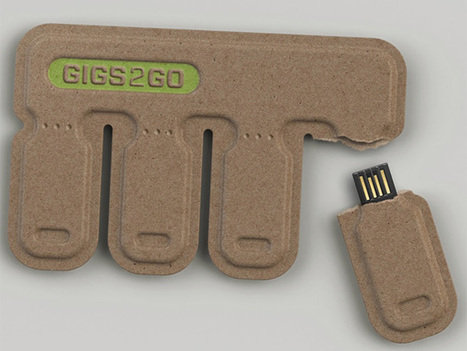 GIGS.2.GO – Sharable, Disposable USB Flashdrive by Kurt Rampton and BOLTgroup | Little things about tech | Scoop.it