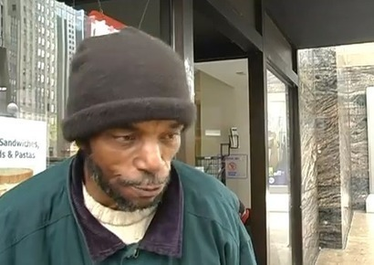 "Emotional Video: Homeless man ""I'm not a bum. I'm a human being"" 