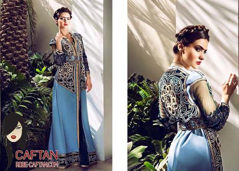 Caftan bleu charmant 2016 | Caftan 2014 | Scoop.it
