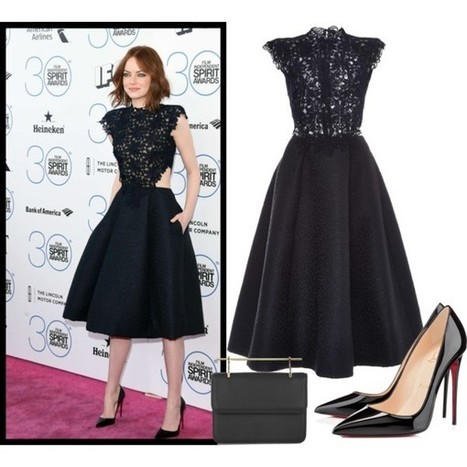 Emma Stone @ 2015 Film Independent Spirit Awards | Fashionista 4ever | Scoop.it