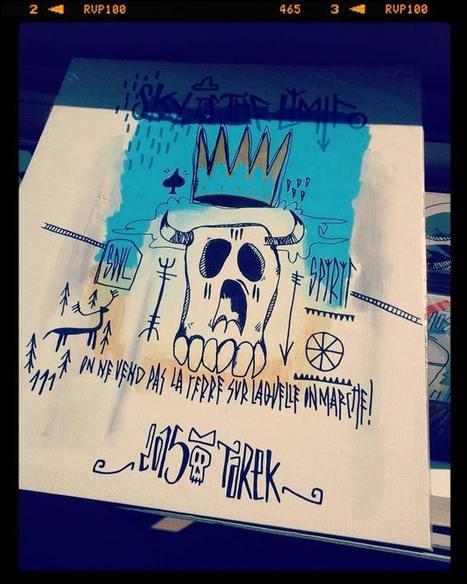Mes dessins à la galerie L'œil ouvert de République | Paris Tonkar magazine | Scoop.it