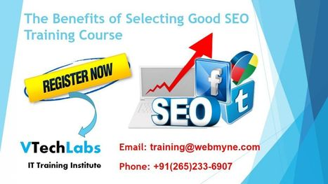 Search Engine Optimization Training Course for IT Students in Vadodara | VTechLabs | Scoop.it